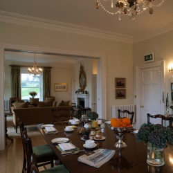 The Vean - Dining Room