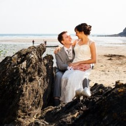 Weddings - Porthluney Beach