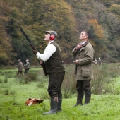 Shooting Caerhays