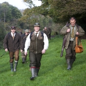 Shooting at Caerhays