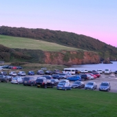The Beach car park